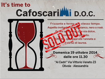Incredibile redemption di CafoscariMi D.O.C.: l'evento è già sold out!