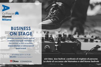 Business on stage! - 17 Aprile 2019