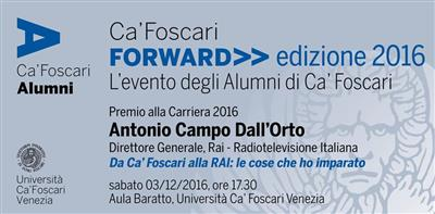 Ca' Foscari Forward - 2016